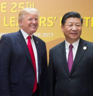 דונלד טראמפ ושי ג'ינפינג | צילום: ויקיפדיה